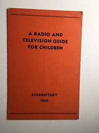A Radio And Television Guide For Children