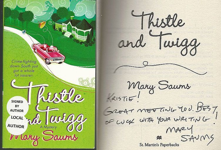 THISTLE AND TWIGG, Saums, Mary