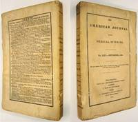 THE AMERICAN JOURNAL OF THE MEDICAL SCIENCES ( NOVEMBER 1833, NO. XXV,  VOLUME # 8)