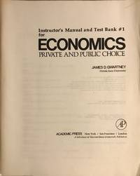 image of Economics: Private and Public Choice: Instructor's Manual and Test Bank  #1
