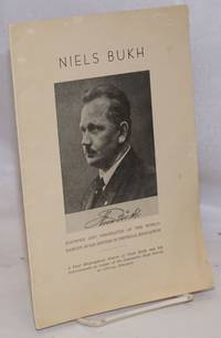 image of Niels Bukh, founder and originator of the world-famous Bukh system of physical education. A brief Biographical Sketch of Niels Bukh and his Achievements as Leader of the Gymnastic High School at Ollerup, Denmark