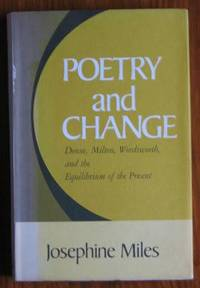 Poetry and Change: Donne, Milton, Wordsworth and the Equilibrium of the  Present