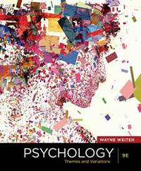 image of Psychology: Themes and Variations, 9th edition