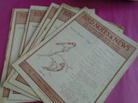BIRD NOTES AND NEWS Vol. XXI  1944 - 45 Nos. 2,3,4,5,6