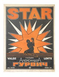 """[A Pair of Russian Sheet Music with Constructivist Design] """"Mirage. Tango"""" together with """"Star. Yalse lente"""""""