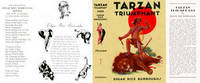 image of Tarzan Triumphant (facsimile Dust Jacket for the ERB 1948 Book edition-JACKET ONLY; NO BOOK)