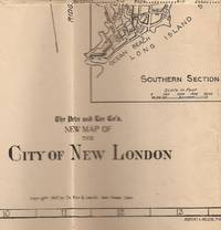 New Map of the City of New London (Connecticut) Showing Streets, Car Lines and Railroads