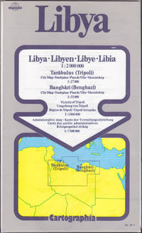 Libya = Libyen = Libye = Libia 1:2,000,000 map (Cartographia)