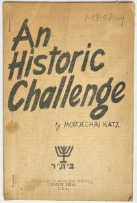 image of An historic challenge