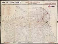 Map of San Francisco Prepared for the Seventh National Foreign Trade Convention