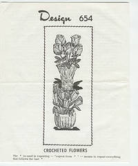 Design 654 - Crocheted Flowers