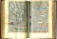PRINTED BOOK OF HOURS (USE OF ROME); printed book on parchment in Latin and French