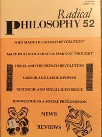 Radical Philosophy 52