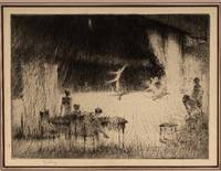 Rehersal. etching on paper