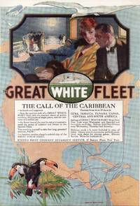 image of Original 1916 Great White Fleet and Community Plate Full Page Color  Advertisements