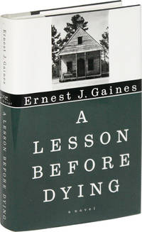 A Lesson Before Dying Signed Bookplate Laid in