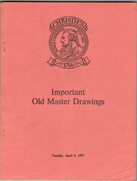 Important Old Master Drawings. 5 April 1977.