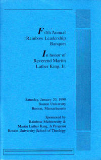 Fifth Annual Rainbow Leadership Banquet in Honor of Rev. Martin Luther King, Jr.