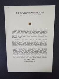 Apollo 14 Lunar Bible - 1971 - Edgar Mitchell