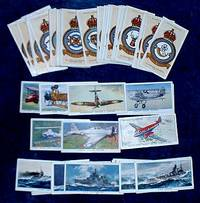 R.A.F. BADGES + AIRCRAFT OF THE ROYAL AIR FORCE + MODERN NAVAL CRAFT