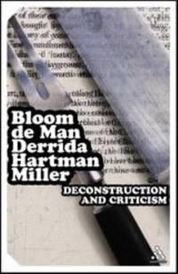 Deconstruction and Criticism