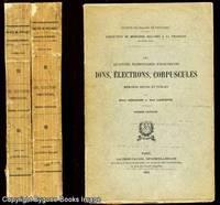 Les Quantites Elementaires D'Electricite; Ions, Electrons, Corpuscules. Collection de Memoires Relatifs a la Physique, deuxieme serie