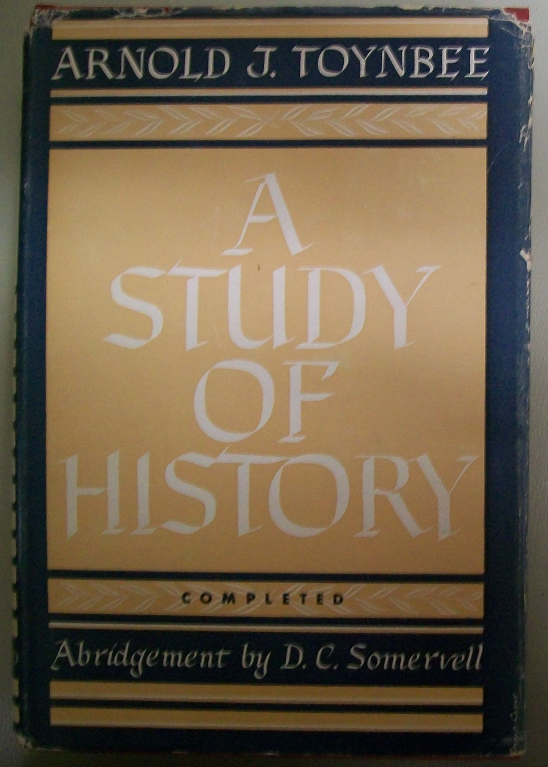 A study of history   Open Library