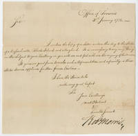 Financing the New Nation at the End of the American Revolution