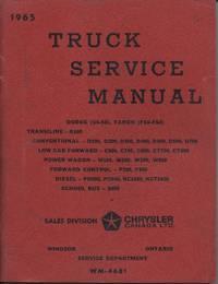 1965 Truck Service Manual