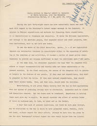 Typed Note Signed / Typed Manuscript Signed