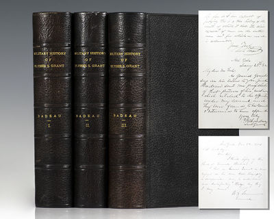 New York: D. Appleton and Company, 1881. First edition of Badeau's important