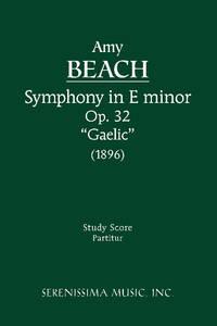 Symphony in E-minor, Op.32 'Gaelic'