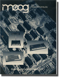 image of Moog Production Catalog (First Edition)