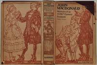 MEMOIRS OF AN EIGHTEENTH-CENTURY FOOTMAN. JOHN MACDONALD TRAVELS (1745-1779).