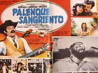Palenque sangriento. Con Felipe Arriaga, Beatriz Adriana. (Cartel de la película)