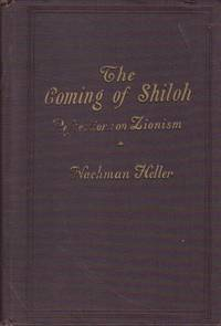 image of The Coming of Shiloh Reflections on Zionism