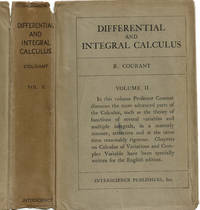 image of DIFFERENTIAL AND INTEGRAL CALCULUS. Volume II.