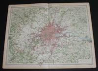 image of Map of London from the 1920 Times Atlas (Plate 25)