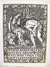 When Adam Delved and Eve Span..
