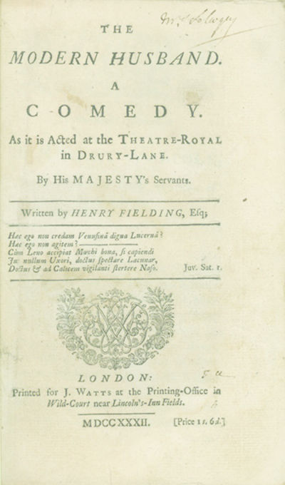 London: Printed for J. Watts, 1732, 1732. First edition, first state of signatures B and C-F. ESTC T...