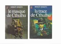 Le Masque De Cthulhu ----avec La Trace De Cthulhu -by August Derleth -TWO VOLUMES( H P Lovecraft...