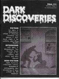 image of Dark Discoveries: Fall 2004