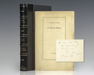 London: Heinemann, 1959. First edition of this short story by the award winning-author. Octavo, orig...