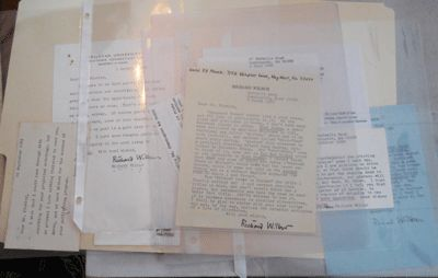Various: Privately Printed. First edition. Loose Sheets. Very Good +. Sold here together are seven t...