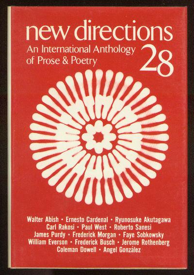 (New York): New Directions, 1974. Hardcover. Fine/Fine. First edition. Fine in fine dustwrapper. Con...
