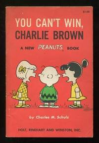 You Can't Win, Charlie Brown; a new Peanuts book