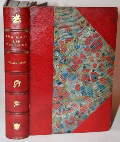 Edinburgh and London: William Blackwood and Sons, 1851. Third, Enlarged, Edition. Three Quarter Leat...