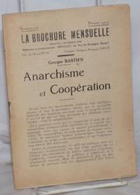 Anarchisme et Coopération