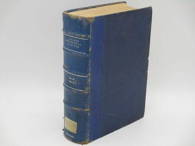 Le Caire. . : Imprimerie P. Barbet., 1934 -1935. Quarter blue leather over blue cloth, raised bands,...