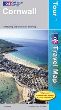 image of Cornwall (Touring Maps & Guides)